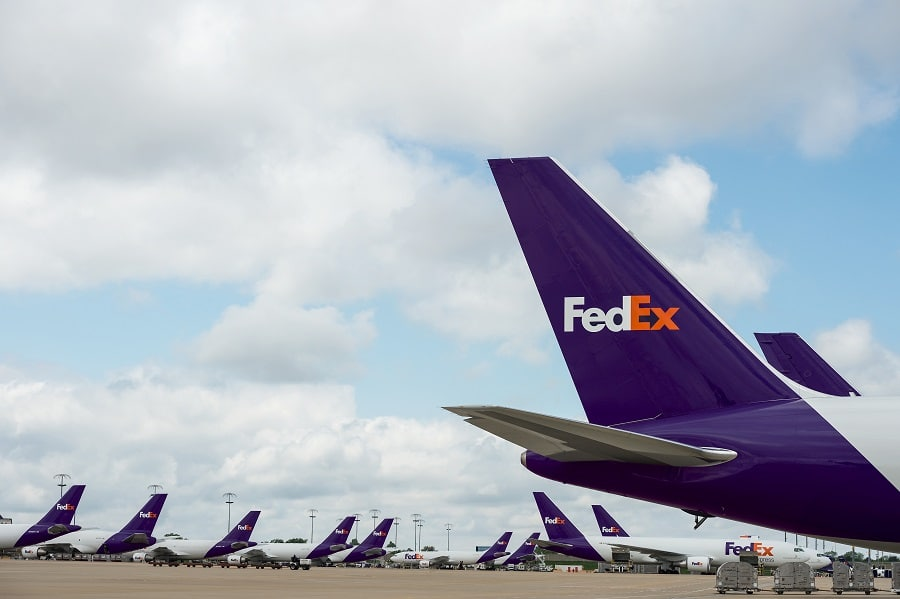 E-commerce growth pushed the FedEx hub to No. 1